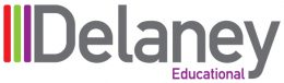 Delaney Educational Retina Logo